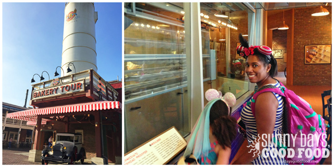 Boudin Bakery Tour at California Adventure