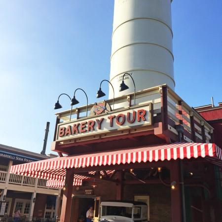 Boudin Bakery Tour at California Adventure