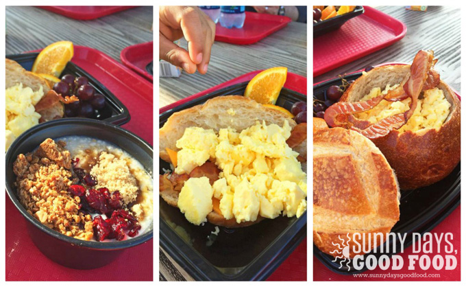Breakfast at Boudin's Pacific Wharf Cafe at California Adventure