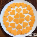 Cheddar Heart Cut-Outs