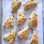 Irish Blueberry Scones
